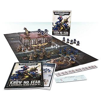 Warhammer 40 000: Know No Fear (Anglais), Starter Set, Warhammer 40k