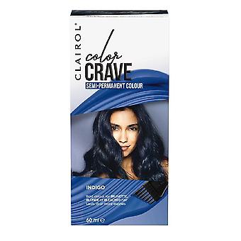 Clairol Color Crave Semi Permanent Hair Colour 15+ Washes 60ml Indigo