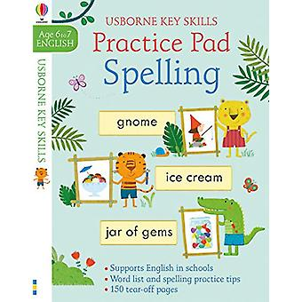 Spelling Practice Pad 6-7 por Kirsteen Robson - 9781474953184 Livro