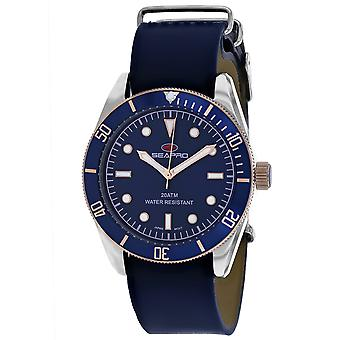 Reloj Seapro Men's Revival Blue Dial - SP0303