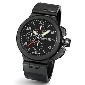 TW Steel ACE206 Spitfire Swiss Made automatic men's chronograph watch 46 mm