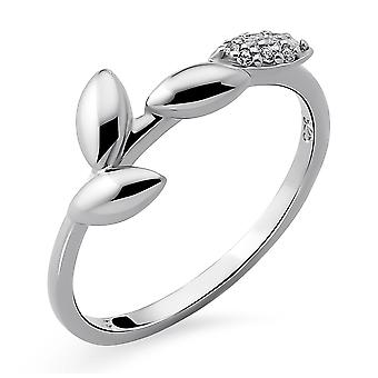 Orphelia Silver 925 Ring withCubic zirconia Rhodium plated