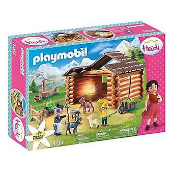 Playset Heidi Goat Stable Playmobil 70255 (47 Stück)