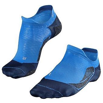 Falke Golfing 5 Invisible No Show Socks - Blue Note