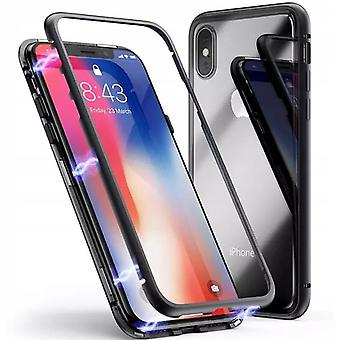 iPhone XS Max Shell mit Screen Protector Schwarz