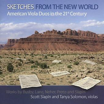 Slapin/Solomon - Sketches From the New World: American Viola Duos in the 21st Century [CD] USA import