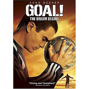 Goal-Dream Begins [DVD] USA import