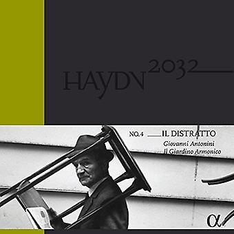 Haydn / Antonini, Giovanni / Il Giardino Armonico - Haydn: sinfonías Vol 4 - importación de Estados Unidos Il Distratto [vinilo]