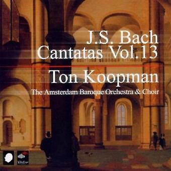 J.S. Bach - J.S. Bach: Cantatas, Vol. 13 [CD] USA import