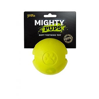 Mighty Pups Foam Floatable Ball Dog Toy