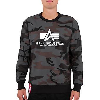 Alpha Industries Men's Sweatshirt Basic Camo