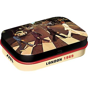Abbey Road Fab 4 Nostalgic Sugar Free Mint Tin - Cracker Filler Gift