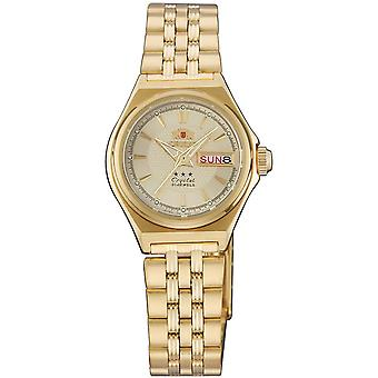 Orient 3 star Watch FNQ1S001C9 - Plated Stainless Steel Ladies Automatic Analogue