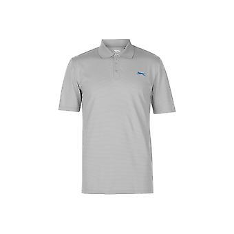 Slazenger Micro Stripe Golf Polo Shirt Mens