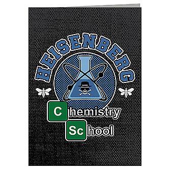 Chemistry School Breaking Bad Greeting Card