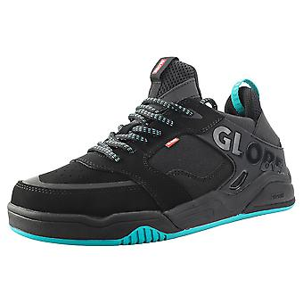 Globe Tilt Evo Womens Skate Trainers in Black Teal