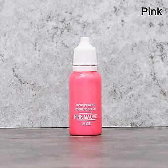 Hot Microblading flüssiges Pigment für Semi Permanent Lippen Eyebrow Eyeliner - sicher und nicht toxisch Manuell Tattoo Pen Flüssigpigment