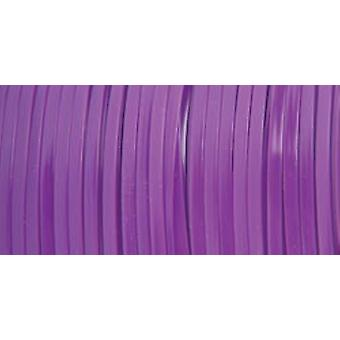 "Rexlace Plastic Lacing .0938""X100yd-Neon Purple"