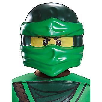 Lloyd Lego Ninjago Master of Spinjitzu Child Dress Up Boys Costume Half Mask