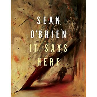 It Says Here by OBrien & Sean