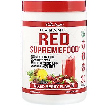 Divine Health, Organic Red SupremeFood, Mixed Berry, 6.34 oz (180 g)