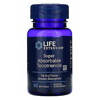 Extensión de vida, Tocotrienols súper absorbibles, 60 Softgels