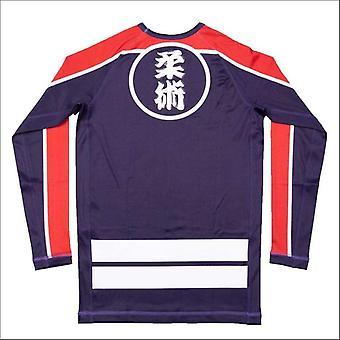 Scramble buke hikeshi long sleeve rash guard