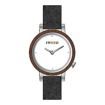 Iwood Real Wood Women's Watch IW18443003