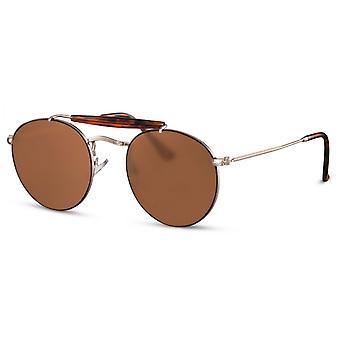 Okulary przeciwsłoneczne Unisex Pilot złoty/brązowy (CWI2431)