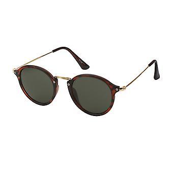 النظارات الشمسية Unisex Cat.3 لامع البني ملتهب (19-177)