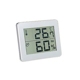 Household Digital Thermometer and Hygrometer TS-E01-W White