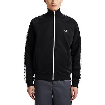 Fred Perry Men's Taped Track Zip Sweatshirt