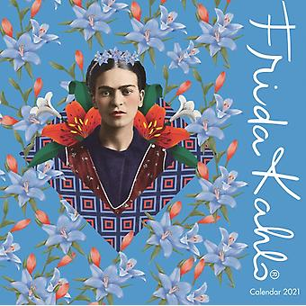 Frida Kahlo Wall Calendar 2021 Art Calendar door Gemaakt door Flame Tree Studio