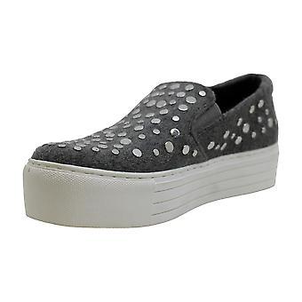 Kenneth Cole Nueva York Mujer Jeyda Tela Baja Top Slip On Fashion Sneakers