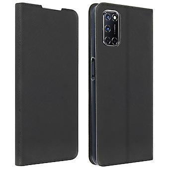 Back cover for Oppo A72/A52 Bigben Soft Touch with Stand- Black