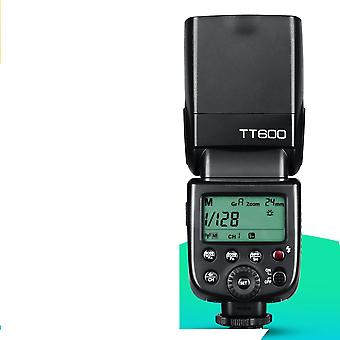 Tt600 2.4g Wireless Gn60 Master/slave Camera Flash Speedlite For Canon Nikon Sony Pentax Olympus Fuji Lumix