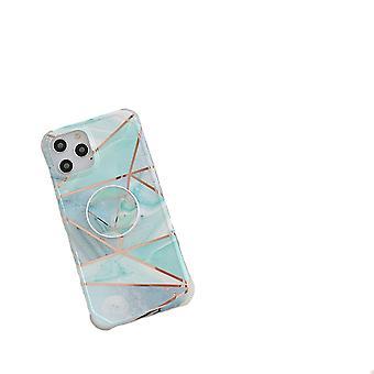 iPhone 11 Pro Max Shell met houder blauw