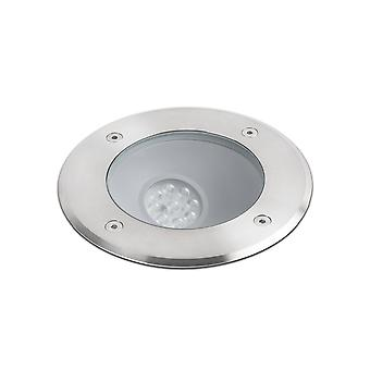 LED Outdoor Recessed Spotlight Matt Nickel IP67