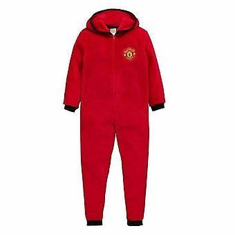 Mens Manchester United Onesie / Jumpsuit