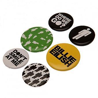 Billie Eilish Badge Set (Pack of 6)