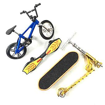 Mini Due Ruote Scooter Children's Educational Toys Finger Scooter Bike Fingerboard Skateboard