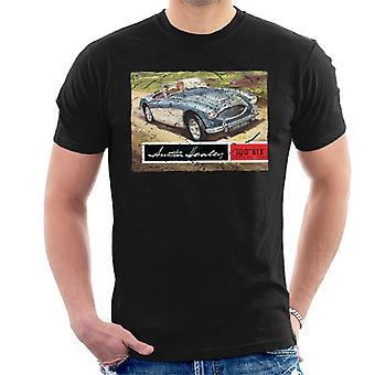 Austin Healey Country Road Britisches MotorHeritage Männer's T-Shirt