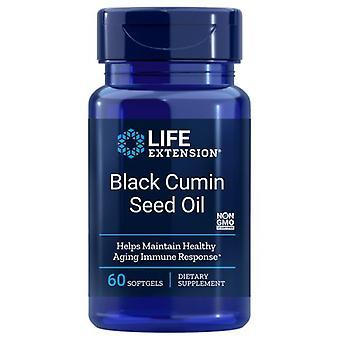 Life Extension Black Cumin Seed Oil, 60 softgel