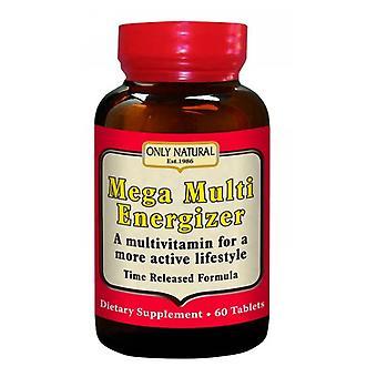Only Natural Mega Multi Energizer, 30 Tabs