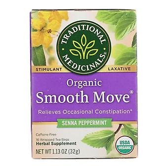 Traditional Medicinals Teas Organic Smooth Move Tea, Peppermint 16 bags