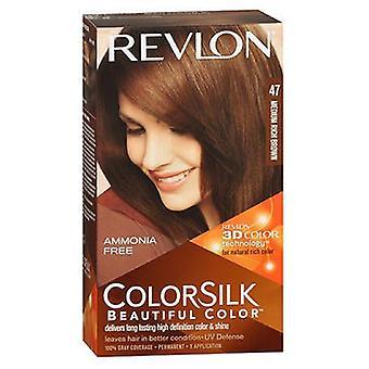 ريفلون Colorsilk لون الشعر الطبيعي، 4WB البني الغنية المتوسطة لكل