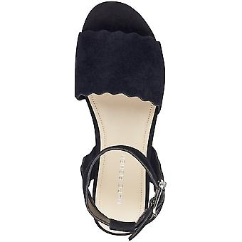 Marc Fisher Womens Faitful Flatform Esp Leather Open Toe Casual Platform Sand...