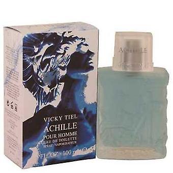 Achille Pour Homme By Vicky Tiel Eau De Toilette Spray 3.4 Oz (men) V728-540111