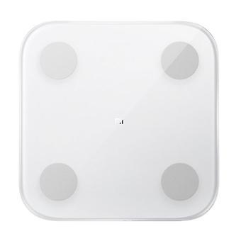 Xiaomi Mi Smart Scale 2 kehon koostumus henkilökohtainen asteikko digitaalinen - 150kg / 0.1kg - Digitaalinen mittakaava kehon valkoinen