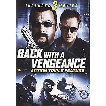 Back With A Vengeance: Action Triple Feature [DVD] USA import